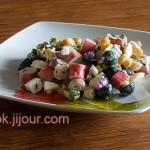 Салат з крабовими паличками