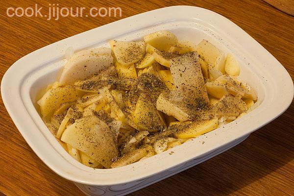 Картопля з сиром - фото 5