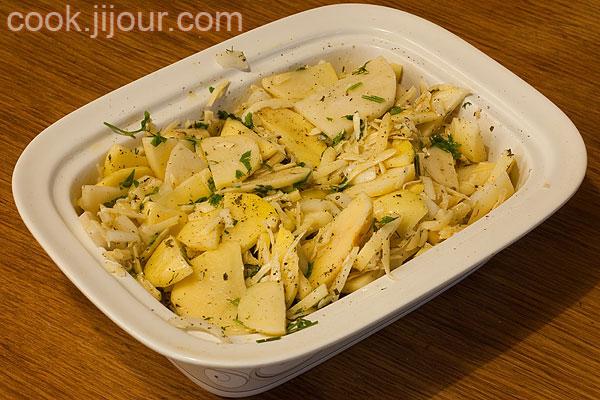 Картопля з сиром - фото 6