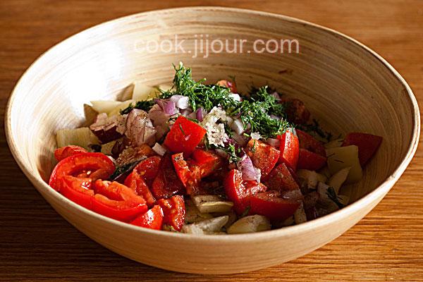 Салат зі свіжих овочів - фото 5