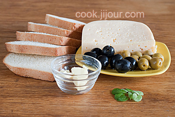 Бутерброди 'Бджілки' - Інгредієнти