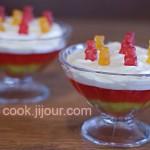 Десерт з желе
