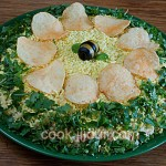Рецепт салату Мімоза