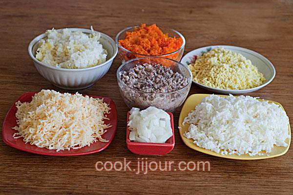Рецепт салату Мімоза - фото 1