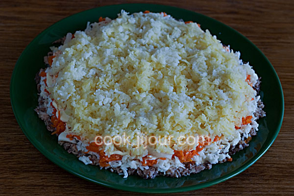 Рецепт салату Мімоза - фото 6
