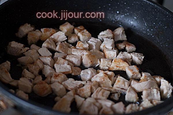 Салат з курки, редису та горіхів - фото 4