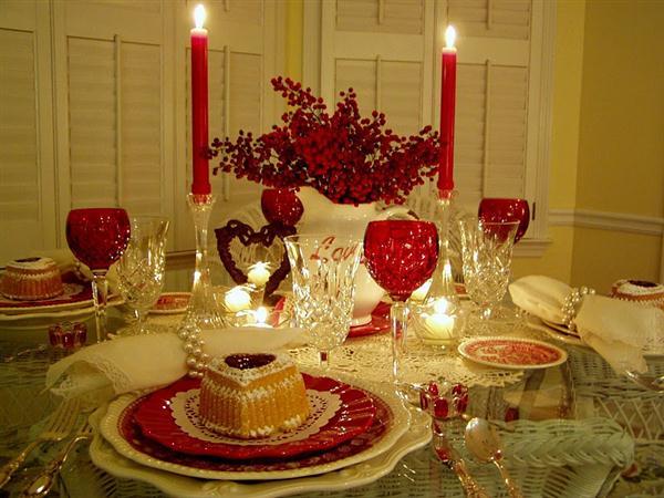 Стіл на день святого Валентина - фото 7