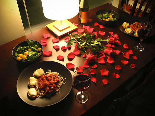 Стіл на день святого Валентина - фото 11