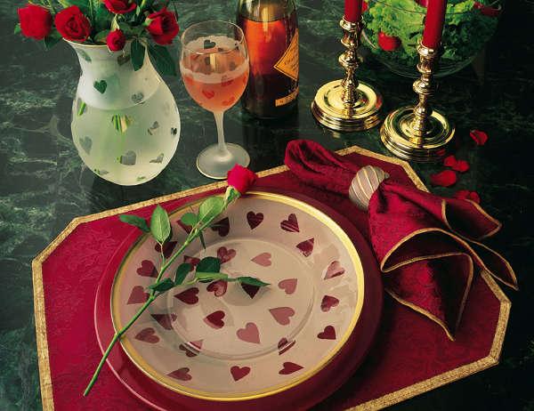 Стіл на день святого Валентина - фото 13