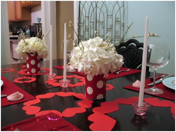 Стіл на день святого Валентина - фото 8