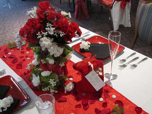 Стіл на день святого Валентина - фото 12