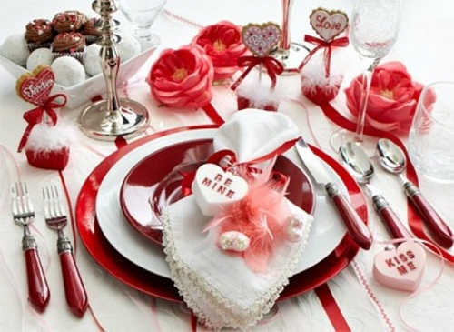 Стіл на день святого Валентина - фото 14