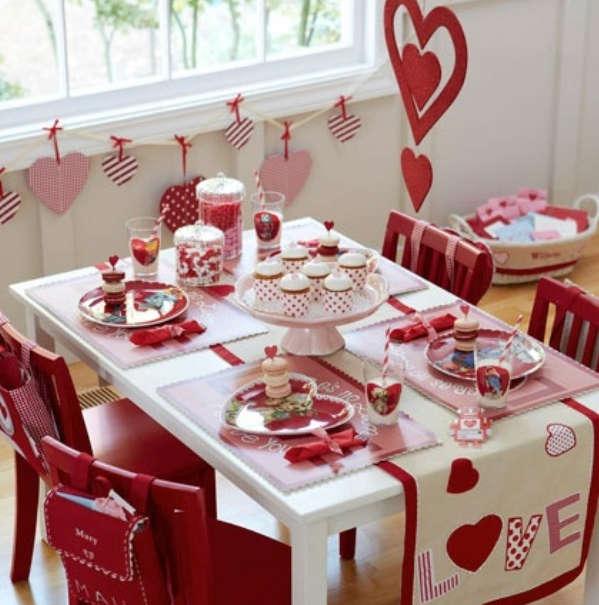 Стіл на день святого Валентина - фото 6