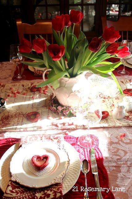 Стіл на день святого Валентина - фото 25