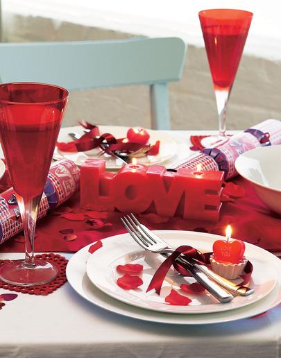 Стіл на день святого Валентина - фото 23