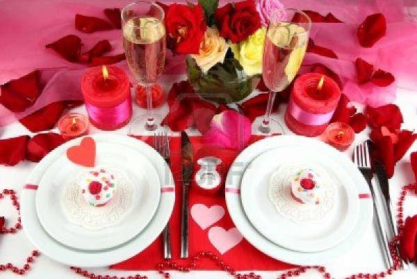 Стіл на день святого Валентина - фото 16