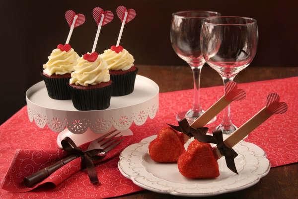 Стіл на день святого Валентина - фото 17