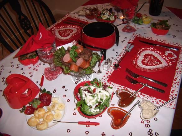 Стіл на день святого Валентина - фото 9