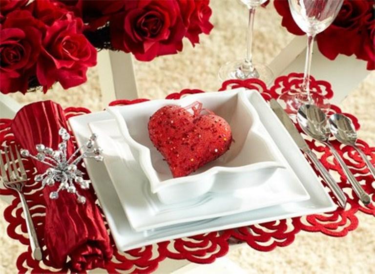 Стіл на день святого Валентина - фото 10