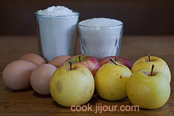 Яблучний пиріг - Інгредієнти