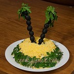 Салат з крабовими паличками та огірками