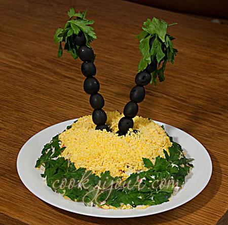 Салат з крабових паличок