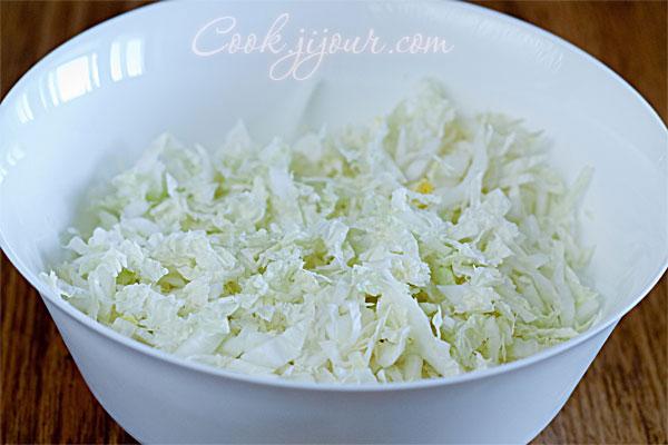 Салат з пекінської капусти - фото 2