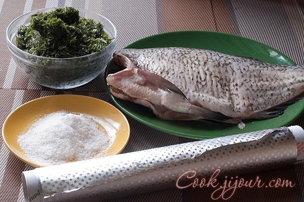 Запечена риба - Інгредієнти