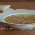 Суп з сосисками