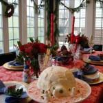Сервірування новорічного столу - фото 18