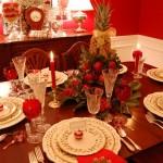 Сервірування новорічного столу - фото 20