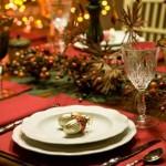 Сервірування новорічного столу