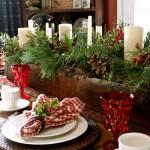Сервірування новорічного столу - фото 35