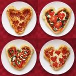 Оформлення страв на день святого Валентина