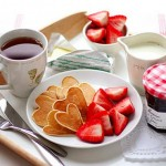 Оформлення страв на день святого Валентина - 10