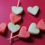 Оформлення страв на день святого Валентина - 11