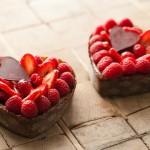 Оформлення страв на день святого Валентина - 19