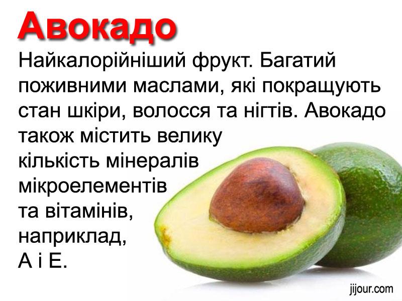 Цікаві факти про користь продуктів харчування